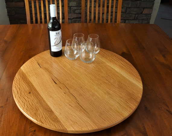 Lazy Susan in  beautiful Sheoak. 650mm Diameter.