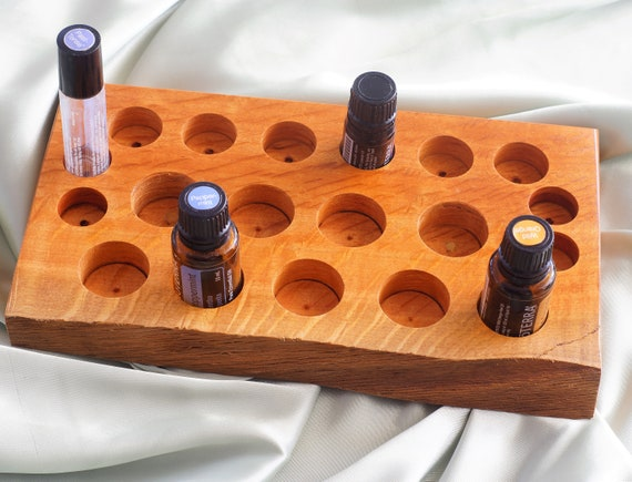 Sheoak (59) Essential Oil Holder with live edge