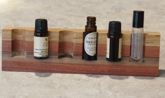 Mixed Timbers (100) Vertical Essential Oil Holder