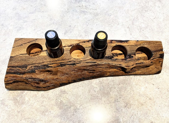 Marri  (125) Essential Oil Holder with natural edge.