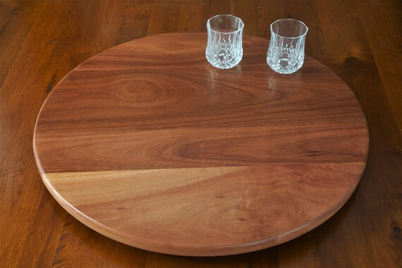 Lazy Susan in Jarrah from WA.  600mm Diameter.