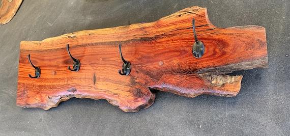 Coat Rack in Woody Pear Timber (5)