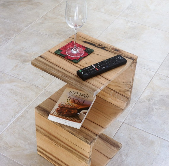 Marri Coffee Table in S shape