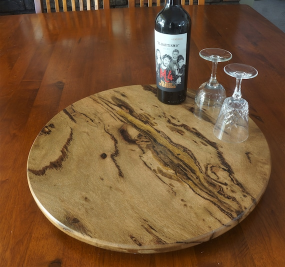 Lazy Susan in  popular Marri Timber. 475mm Diameter.