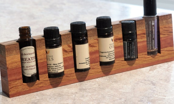 Mixed Timbers (99) Vertical Essential Oil Holder