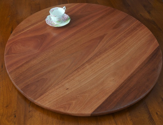 Jarrah Lazy Susan 800mm Diameter.