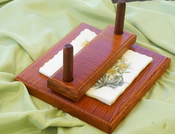 Napkin Holder.  Sheoak Timber