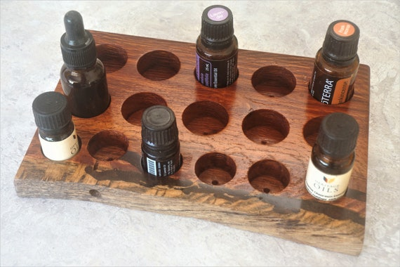 Woody Pear (119) Essential Oil Holder with natural edge.