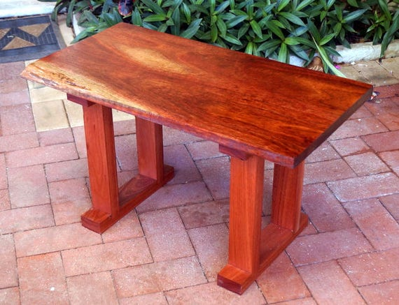 Coffee table F) Jarrah