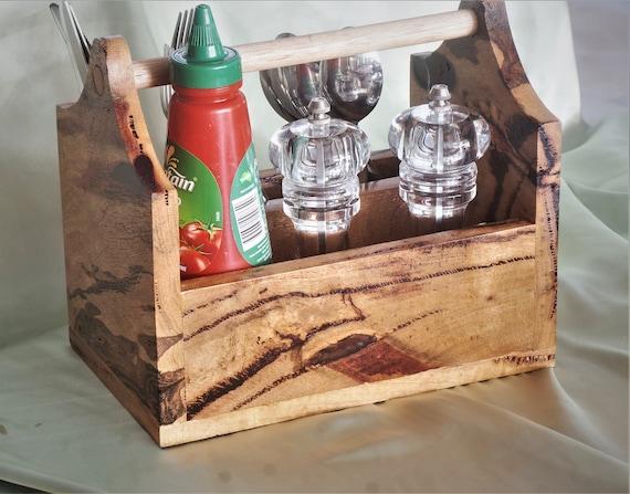 Cutlery Caddy Marri Timber