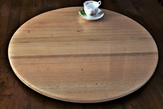 Lazy Susan in  Victorian Ash. 700mm Diameter.