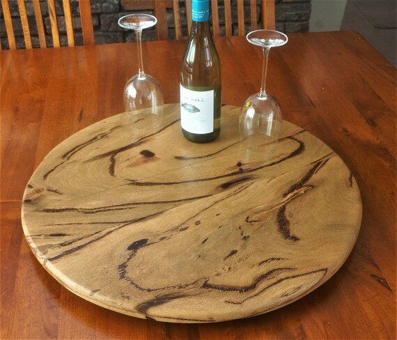 Lazy Susan in  popular Marri Timber. 600mm Diameter.