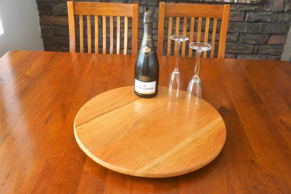 Sheoak (2).  500mm Diameter. Lazy Susan