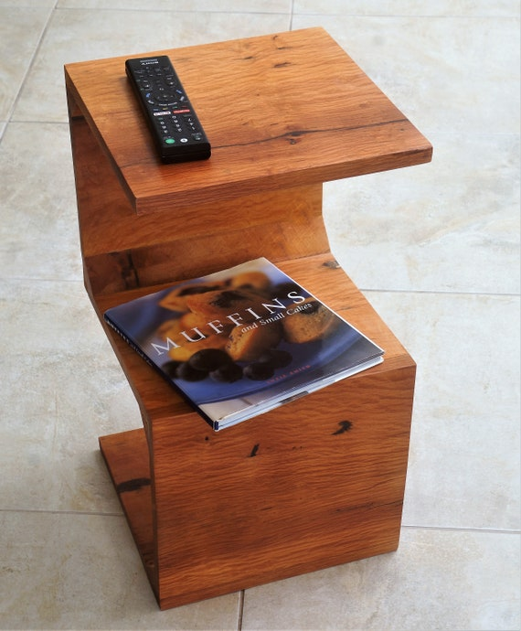 Sheoak Coffee Table in S shape