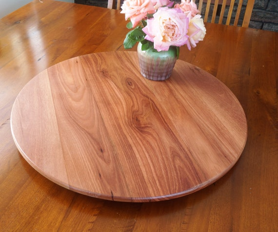 Lazy Susan in Western Australian Jarrah 700mm Diameter.