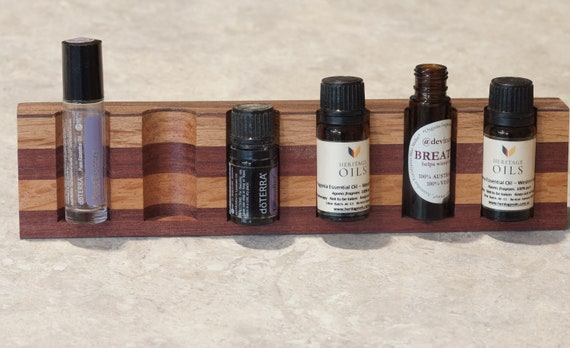 Mixed Timbers (101) Vertical Essential Oil Holder