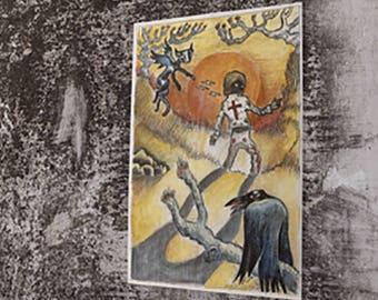 Return Of The Grievous Angel Gram Parsons inspired Art Print
