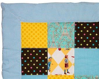 """Vintage """"Remi and Colette"""" Quilt blanket"""
