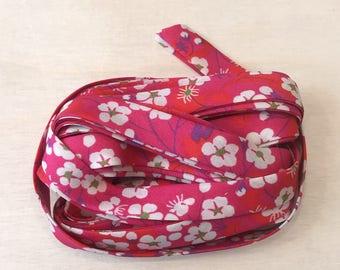 Liberty MITSI fabric pink B - * Limited Edition *.