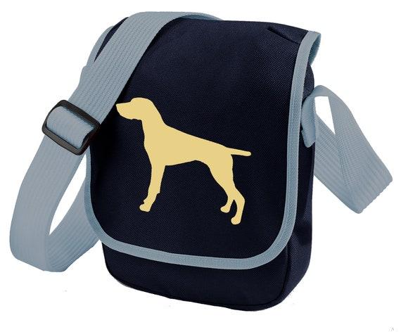 Vintage Style Boykin Spaniel Silhouette Unisex Cross Body Bags Personalized Travel Bag