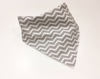 SALE Grey Chevron