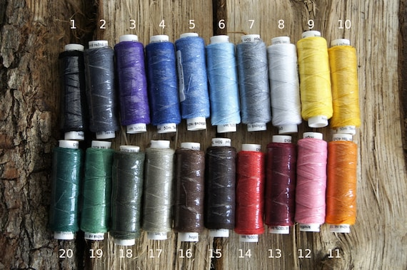 fujix,Hand-dyed Pure Silk hand sewing thread choose from 70color,made in Japan,for handicraft,weaving Soie et lace bookbinding