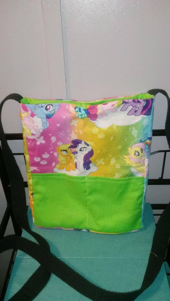 5b2ea52479 My Little Pony handmade reversible crossbody bag