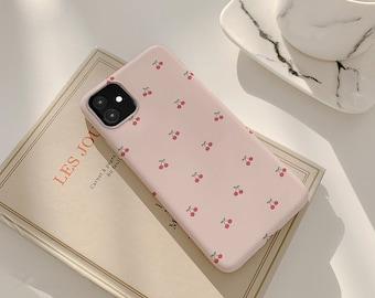 Cute Cherry iPhone 13 12 iPhone 12 Pro iPhone 11 Pro iPhone 6 iPhone XS iPhone SE 2020 iPhone 11 iPhone 8 iPhone XR iPhone 7 Plus cpl030