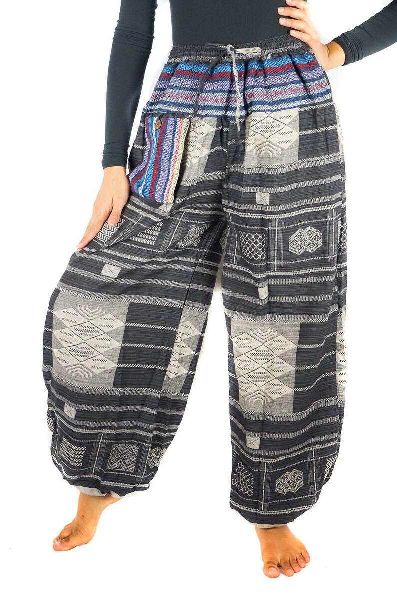 Womens Hippie Pants Music Festival Clothes Cotton Pants Festival Pants Hippie Pants Hippie Pants Women Boho Pants Festival Clothing