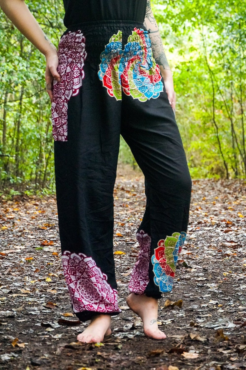 Street Wear Harem Pants Pineapple Crop Cuff Pants Dance-wear