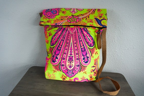Boho Crossbody Bag, Vintage Hippie Crossbody Bag,