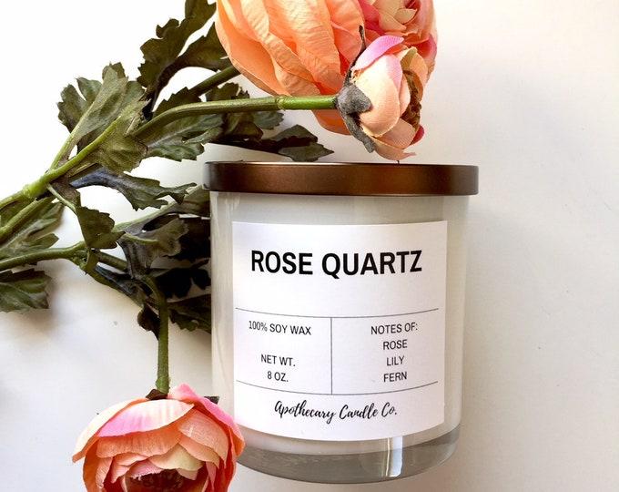 Featured listing image: ROSE QUARTZ | 8 oz.