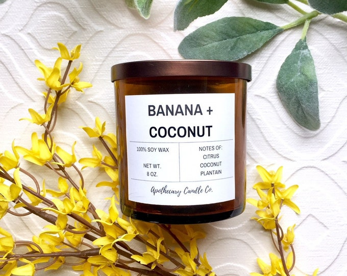 Featured listing image: BANANA COCONUT   8 oz.