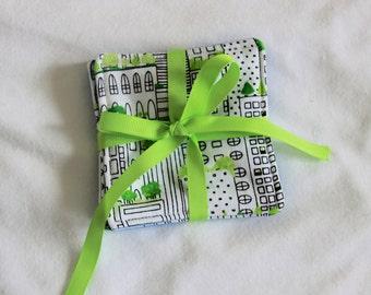 Fabric Coasters- Buildings