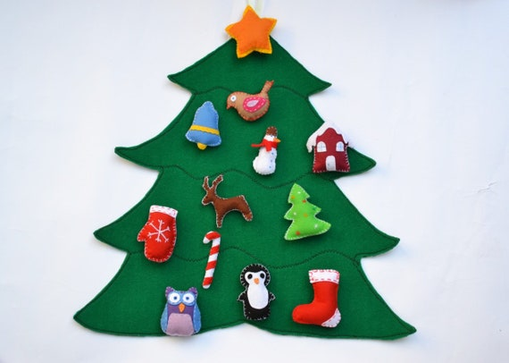 Christmas Countdown Calendar.Felt Advent Calendar Christmas Countdown Xmas Gift For Christmas Decoration Wall Hanging Calendar Christmas Tree Advent Calendar