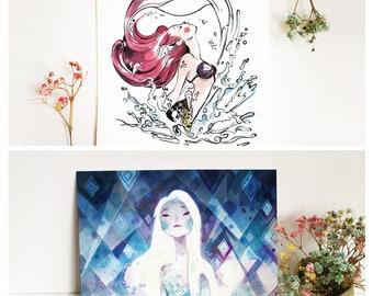 Disney Princesses -A6print