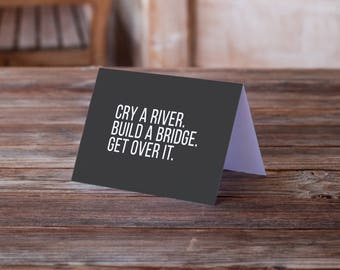 Divorce Card Break Up Card Sarcastic Greeting Card Funny Quote Etsy