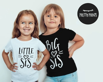 Matching big sister little sister outfits, big sister little sister matching outfits, big sister little sister matching shirts