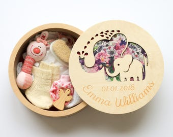 Memory box for kids, Blessing gift girl, Unique new mom gift, Baptism keepsake box, Treasure box, Keepsake baby box, Personalized gifts