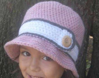 Winter hat, winter hat for women, winter girl hat, crochet women hat, crochet girl hat, elegant hat, warm hat, cloche hat, gift for her