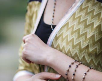 Kimono Silk Vest