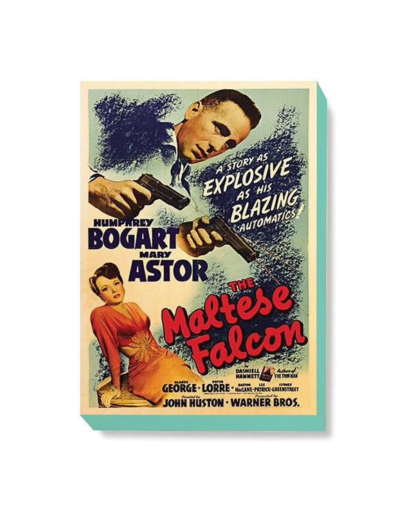 The Maltese Falcon Bogart vintage movie poster print #3