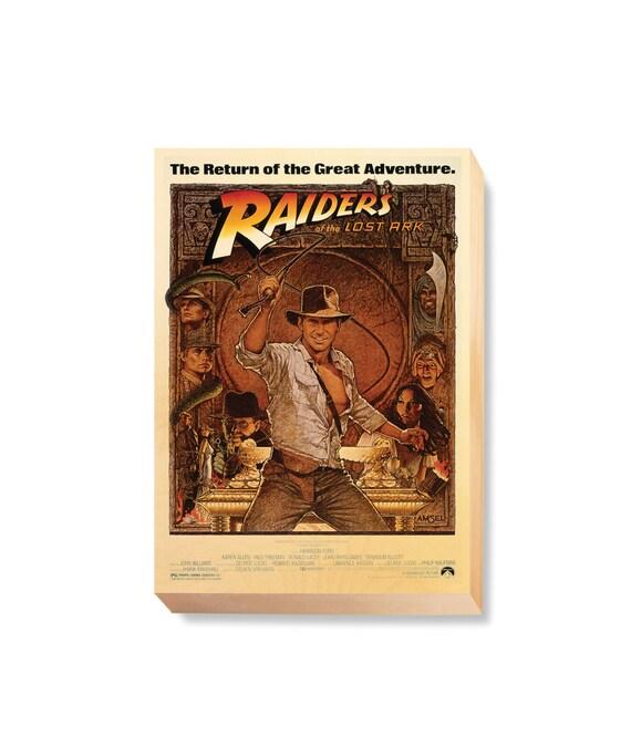 CANVAS Indiana Jones y el Reino de la Calavera de Cristal Art print POSTER