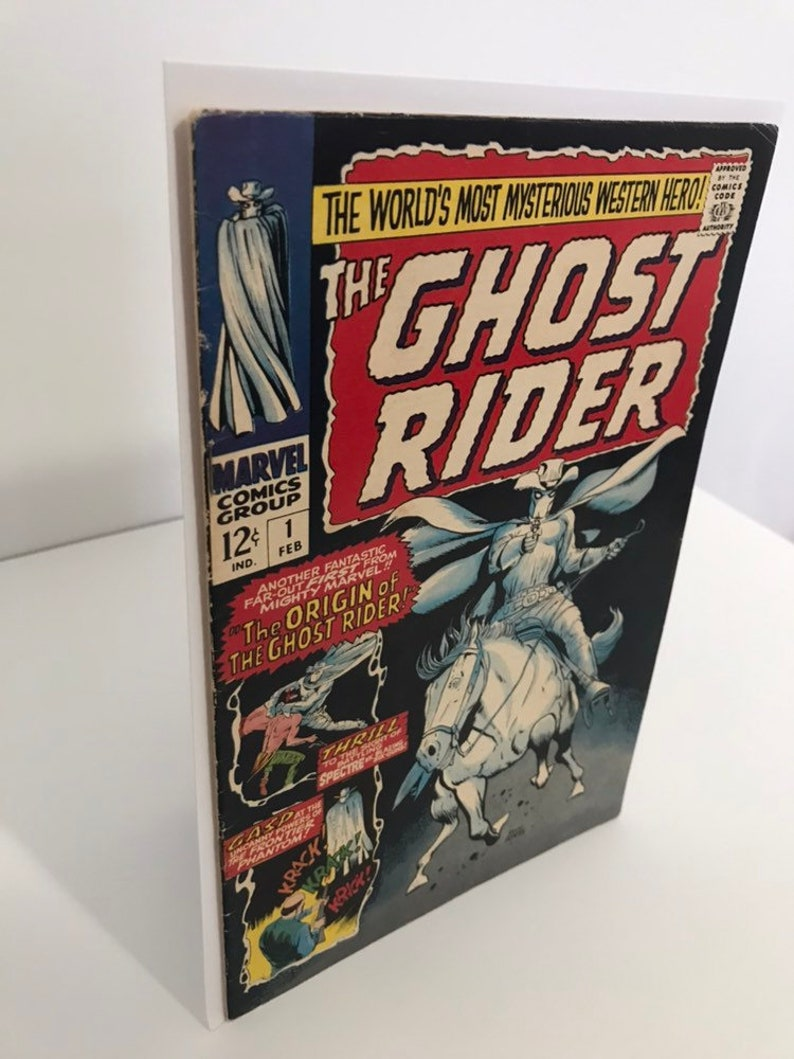 Ghost Rider 1 1967 First 1st appearance Carter Slade Marvel Comic Book