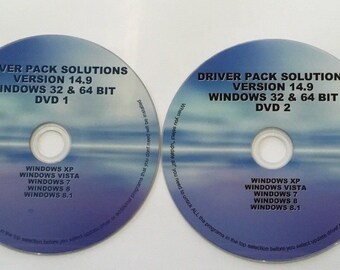 Drivers /& Software Pack 6x CD System Diagnostic Data Recovery Computer Repair