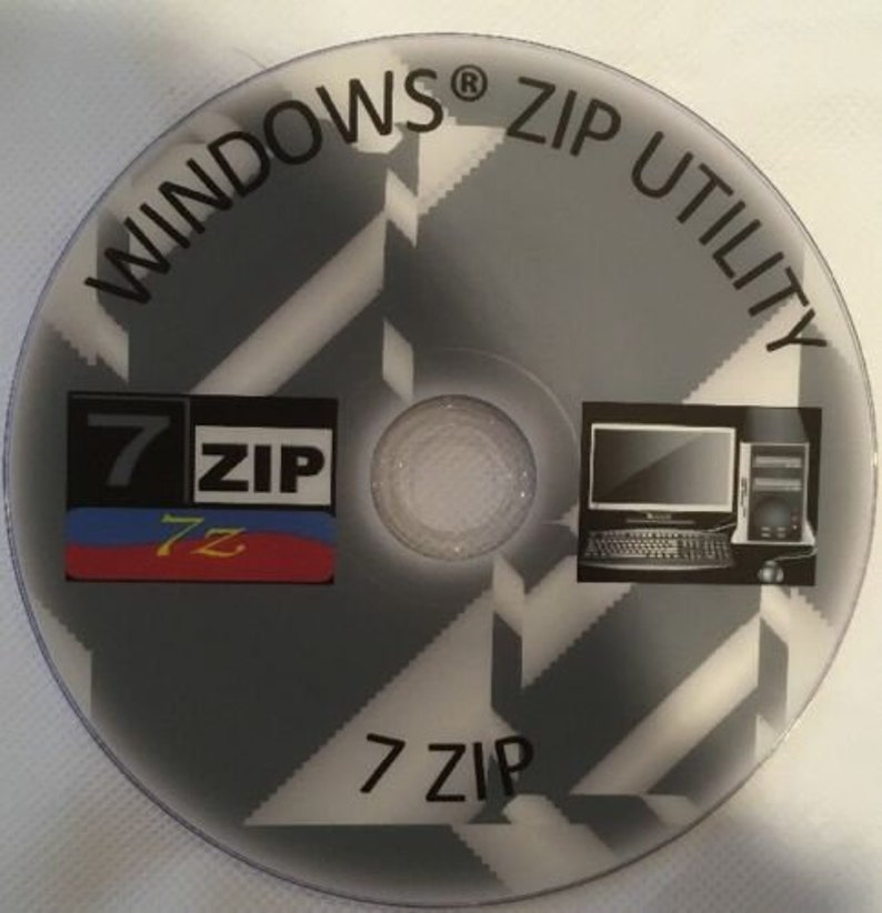 WINZIP unzip / ZIP / RAR Windows File Archive Compression Software 2017 dvd  7zip