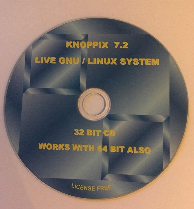 Knoppix version 7 2 Linux, Live Operating System, 32-bit & 64-bit