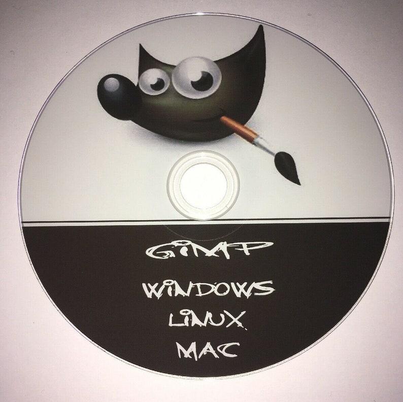 Digital image edit software GIMP Linux Windows Mac install & video tutorial