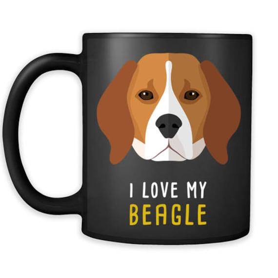 Beagle Tumbler Beagle Coffee Cup Love My Beagle Beagle Gifts Beagle Christmas Gifts Beagle Beagle Birthday Gifts