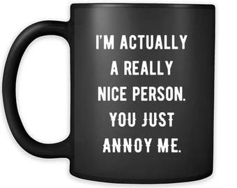 Annoying friend gift etsy mug funny gifts m4hsunfo
